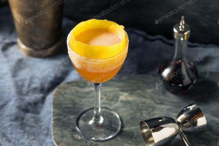 Boozy Brandy Crusta Cocktail