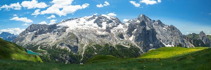 Alpine Dolomites landscape, Italy