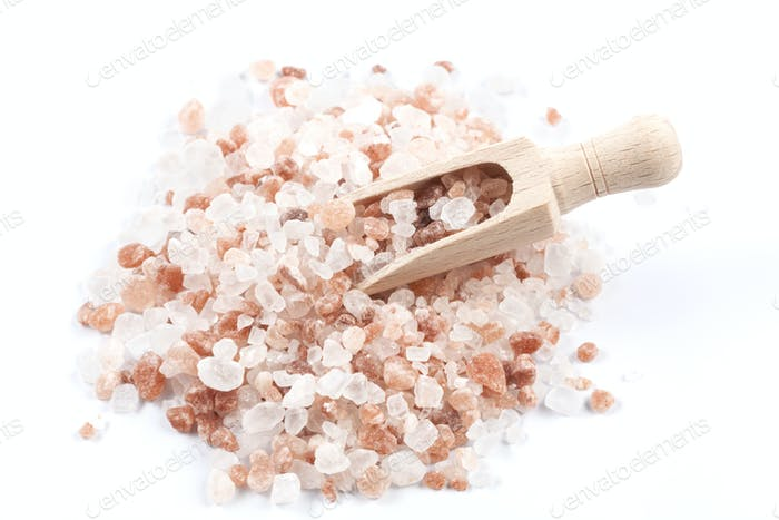 Salt Scoop in Pile