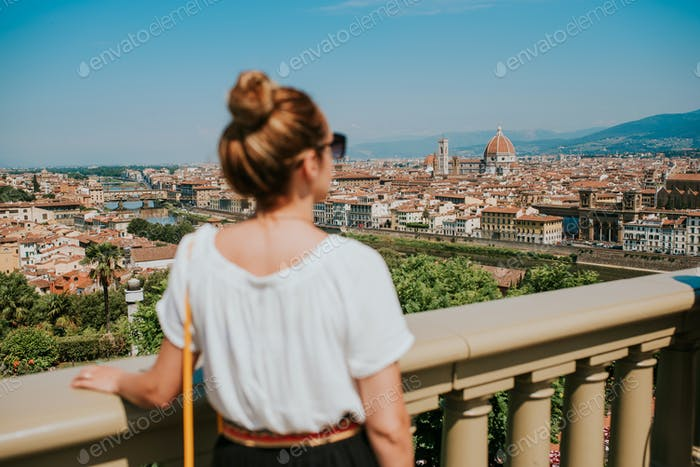Woman in Florence