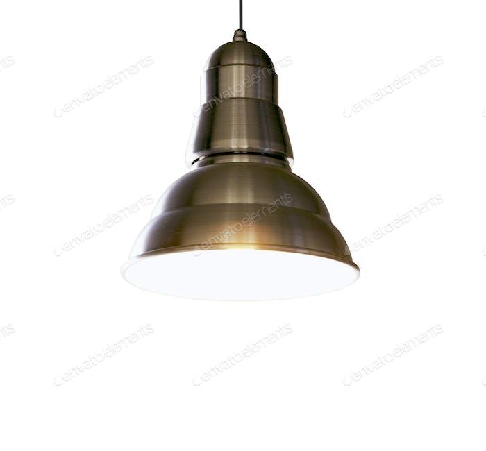 Retro hanging lamp
