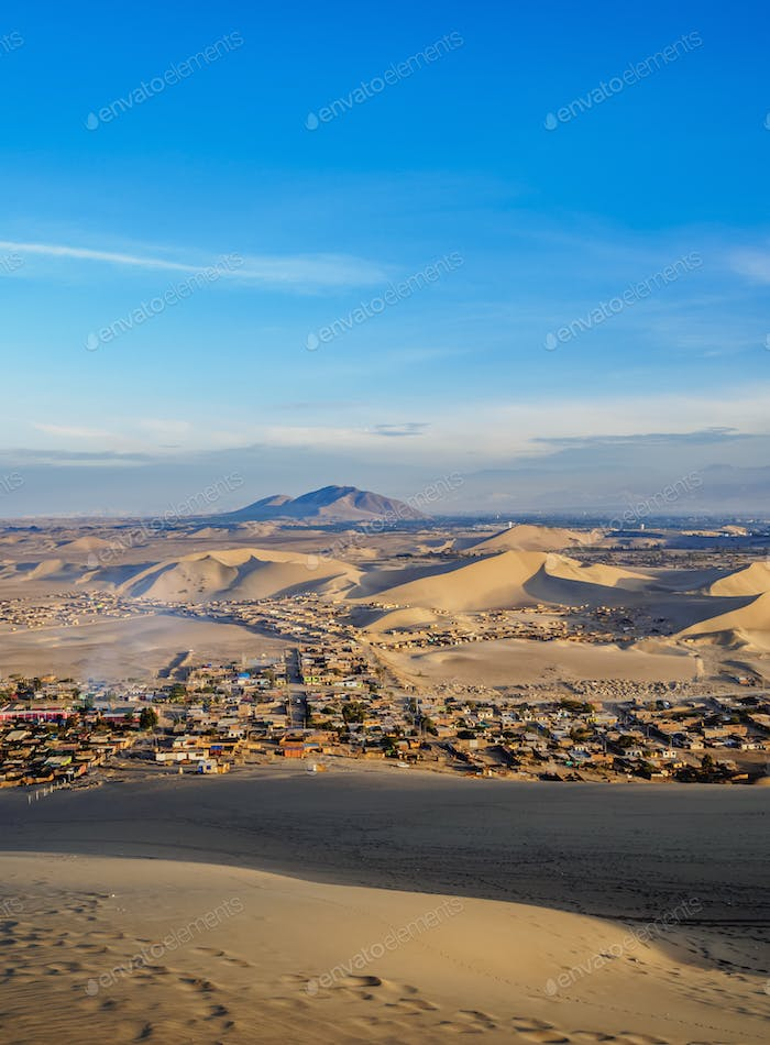 Huacachina in Peru