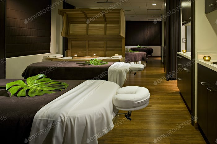53749,Massage tables in empty spa