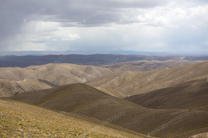 Andean Mountains and the Altiplano, Bolivia