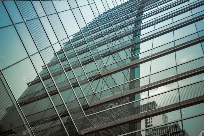 Business building,skyscraper full of windows