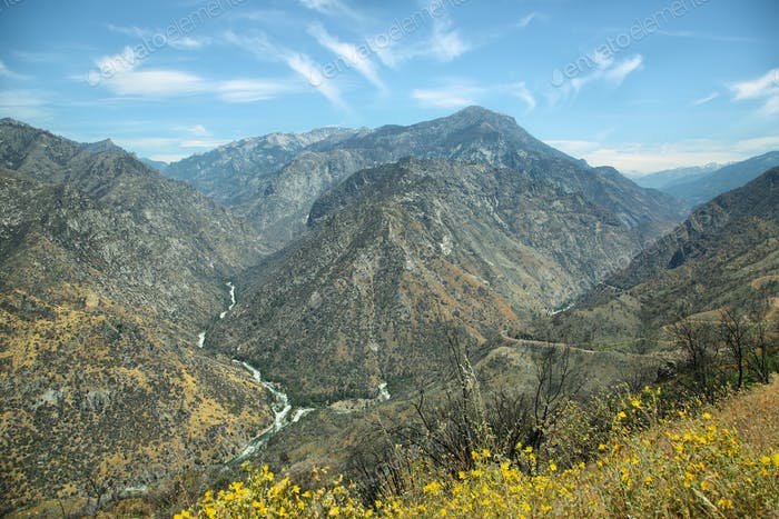 Kings Canyon National Park, California.