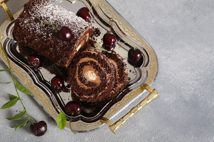 Chocolate Dessert Roll