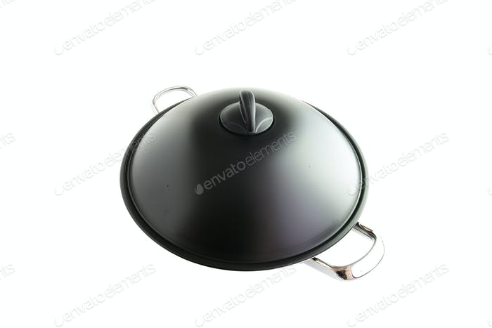 wok covered by lid