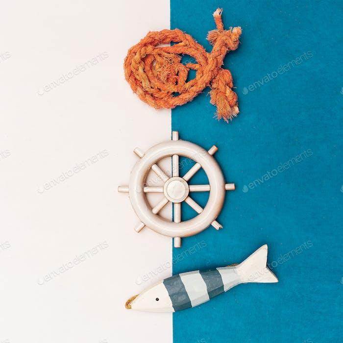 Set Souvenirs Seaman Minimal art
