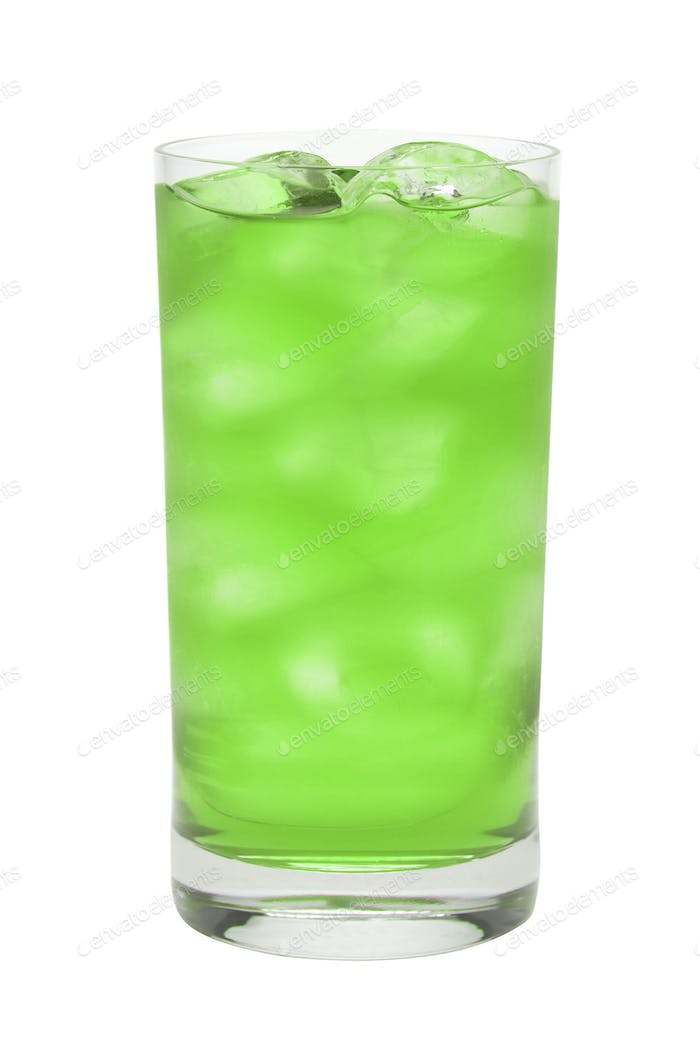 Fruit coctail isolated