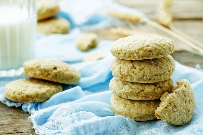 oatmeal with bran
