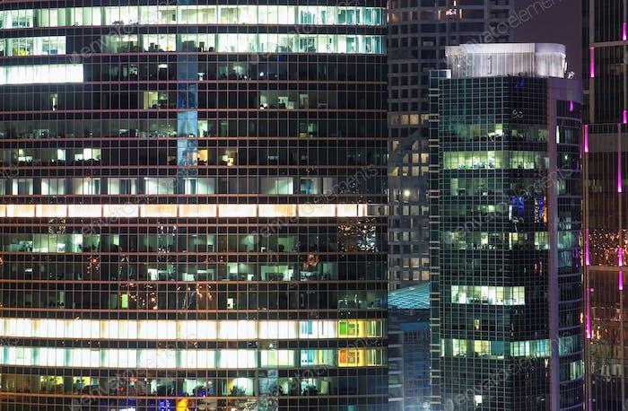 Windows office building
