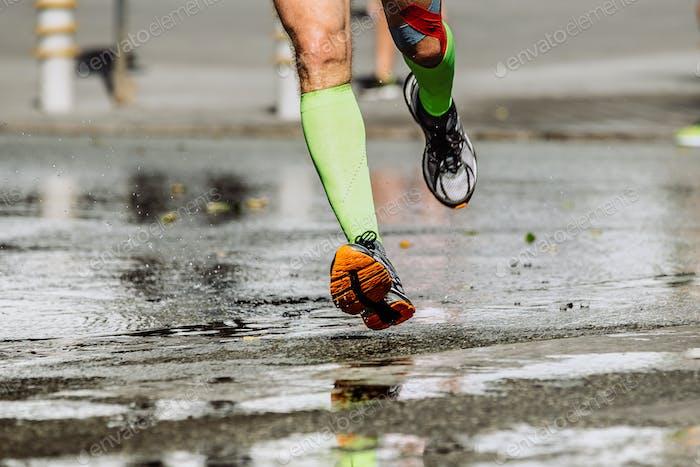 Füße Herren Runner Kompressionssocken