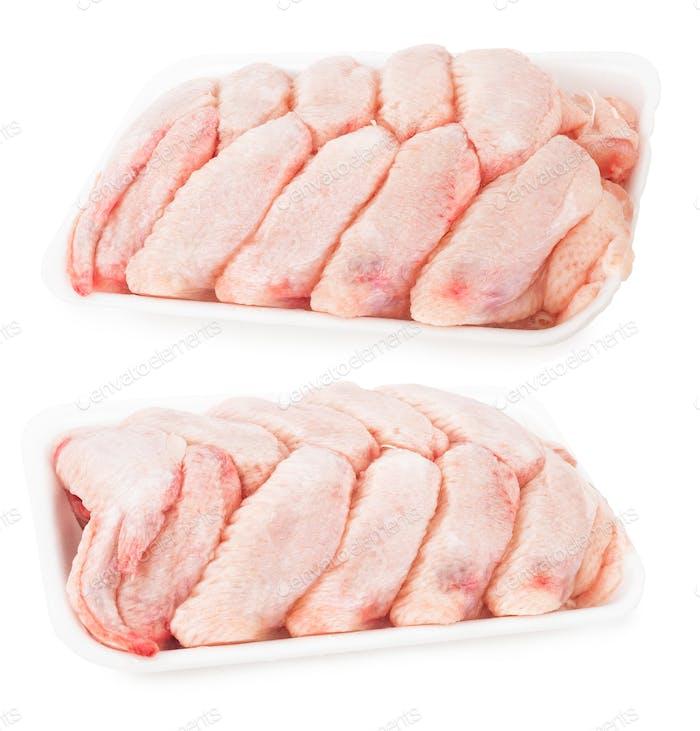 Fresh chicken wings
