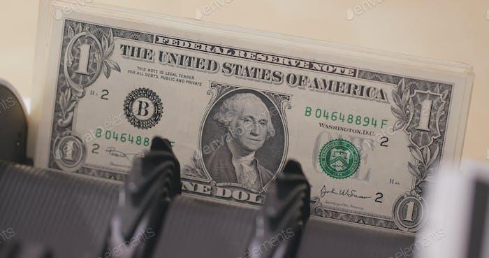 Geldzähler von usd