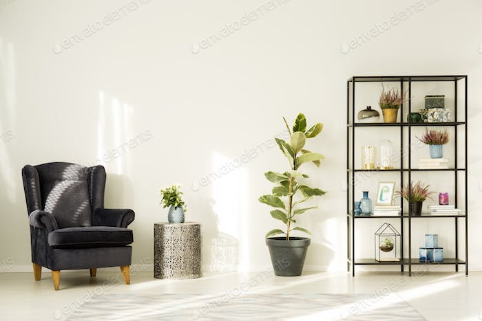Simple room interior