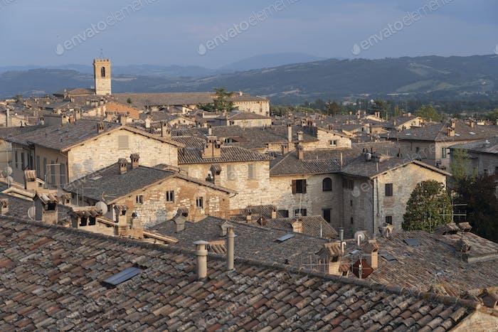 Gubbio, historic city in Umbria, Italy