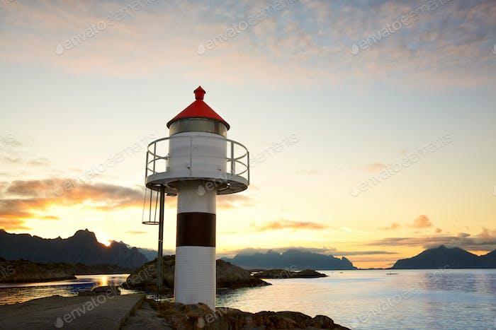 Leuchtturm in Lofoten