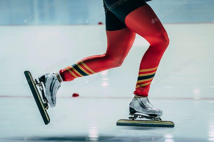 Feet women athletes skater