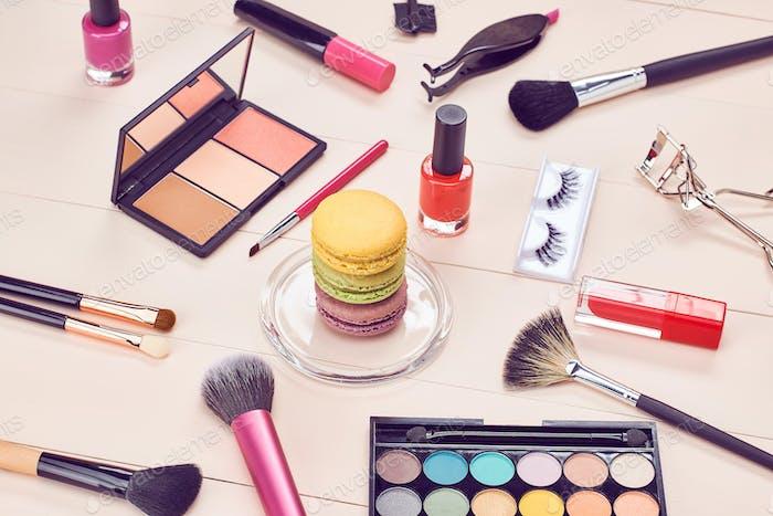 Still life, cosmetics