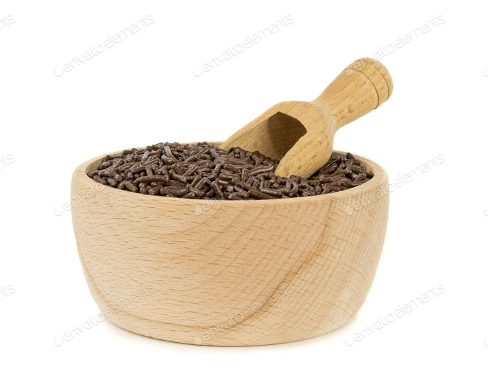 A Bowl of Chocolate Sprinkles