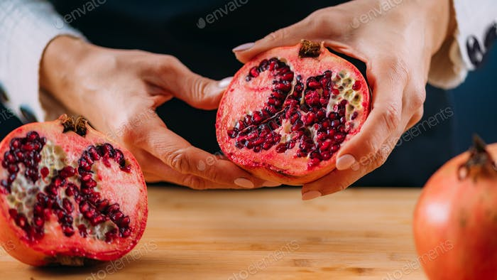 Pomegranate Fruit,