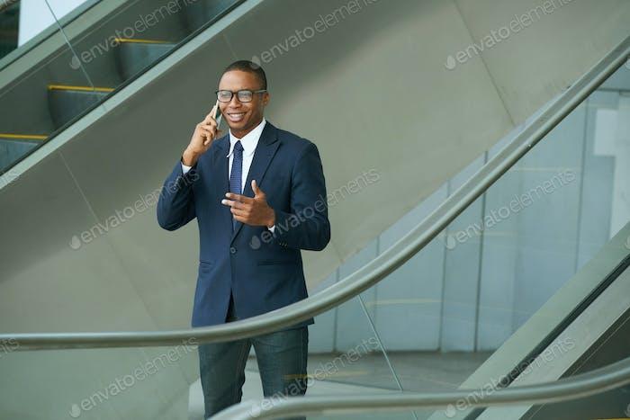 Having phone call