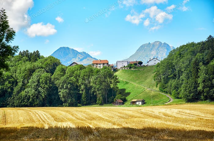 Landscape of Switzerland