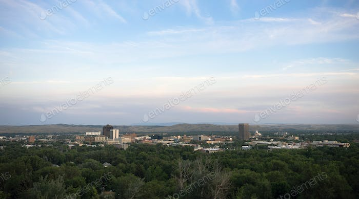 Bozeman Montana Downtown City Skyline North America United States