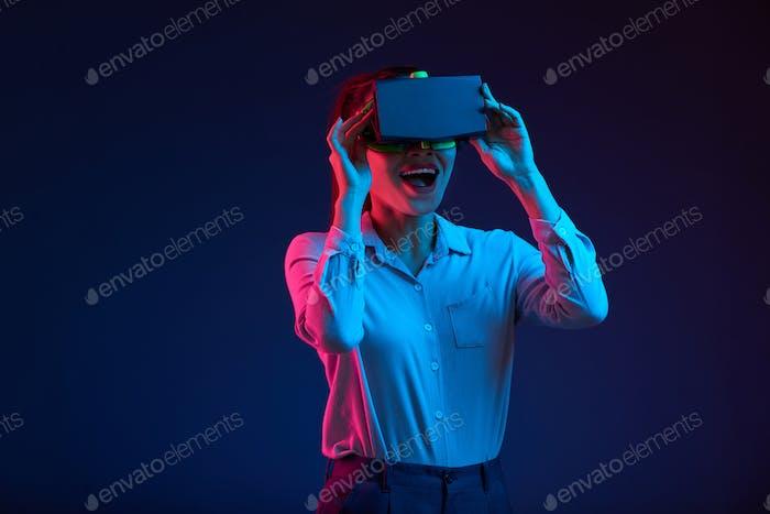 Disfrutar de la realidad virtual