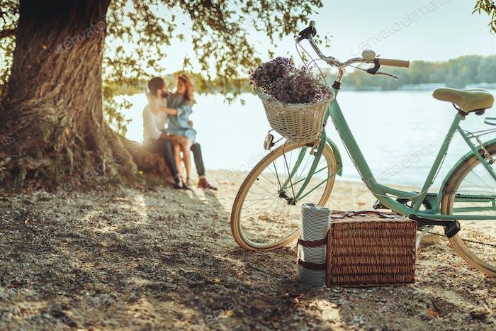 Ein spontanes Picknick zu zweit