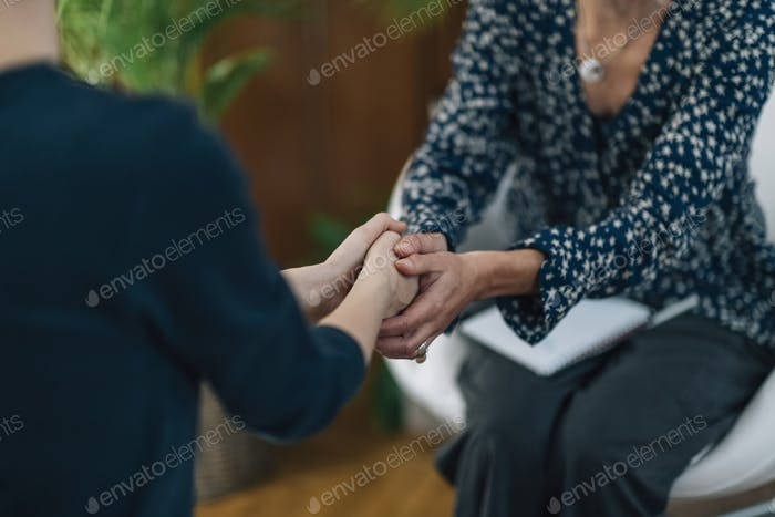 Life Coach Working with a Female Client