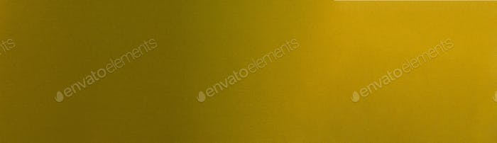 Elegant gradient dark shiny golden metallic background web banner