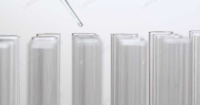 Pipette and test tube