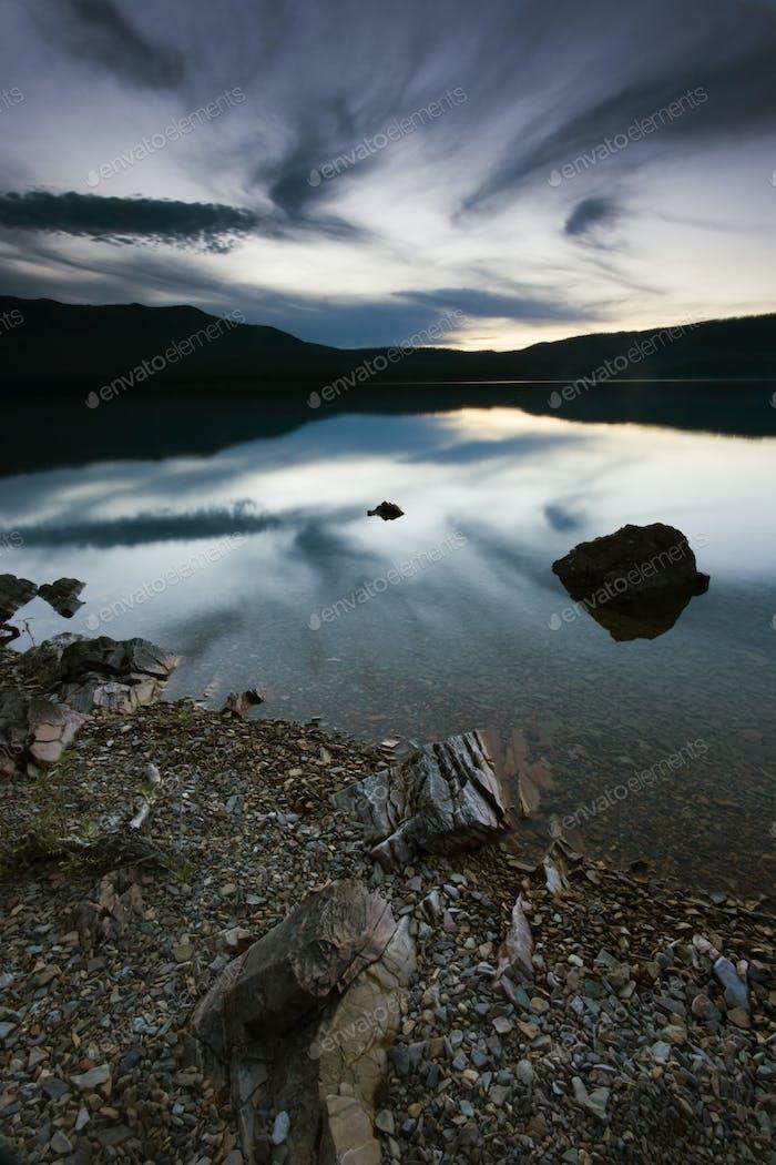 Night is Comingg - Glacier National Park