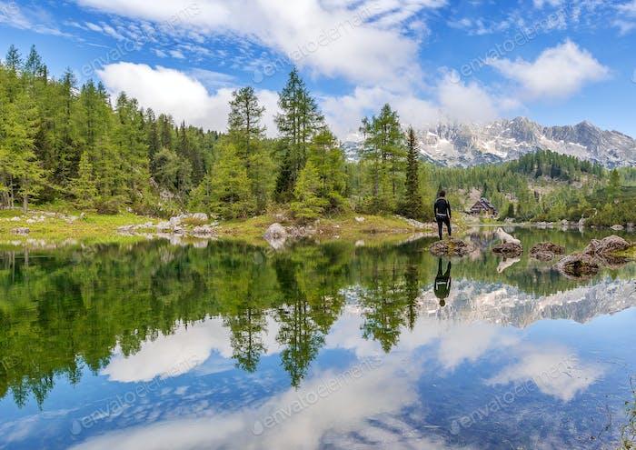 Ein wunderschönes Tal der sieben Seen