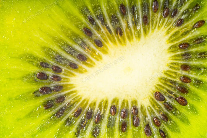 Kiwi background close-up