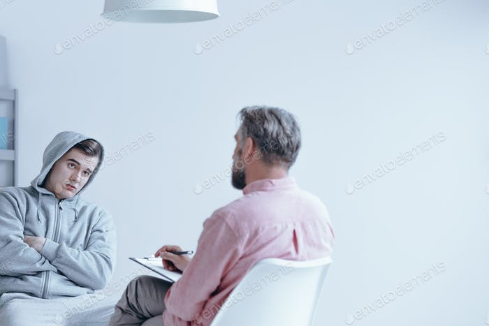 Individual session with therapist