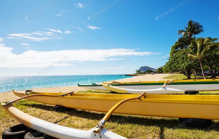 Hawaiianische Boote