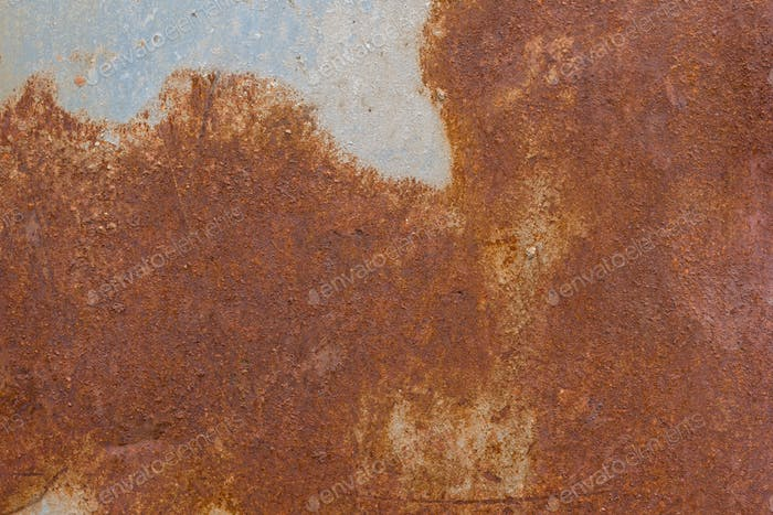 Brown rusty patchy grungy background