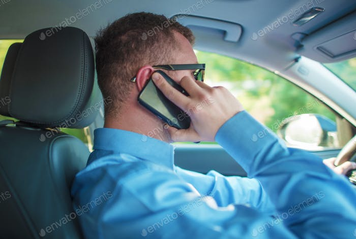 Talking by Phone While Driving
