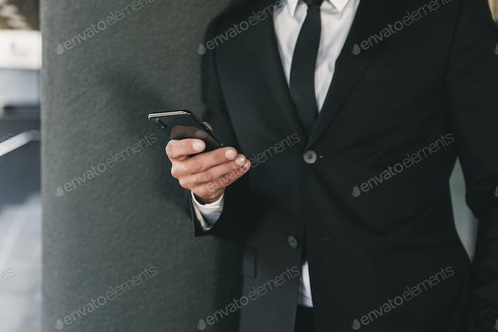 Cropped image of a businessman