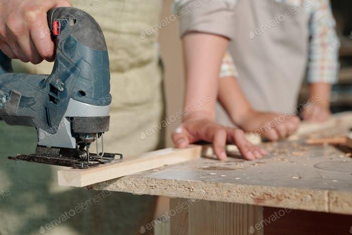 Using jigsaw in workshop