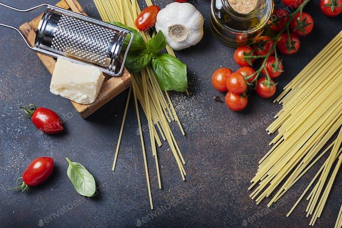 Konzept der italienischen Küche