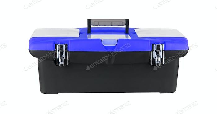 Box für Werkzeuge isoliert auf weiß