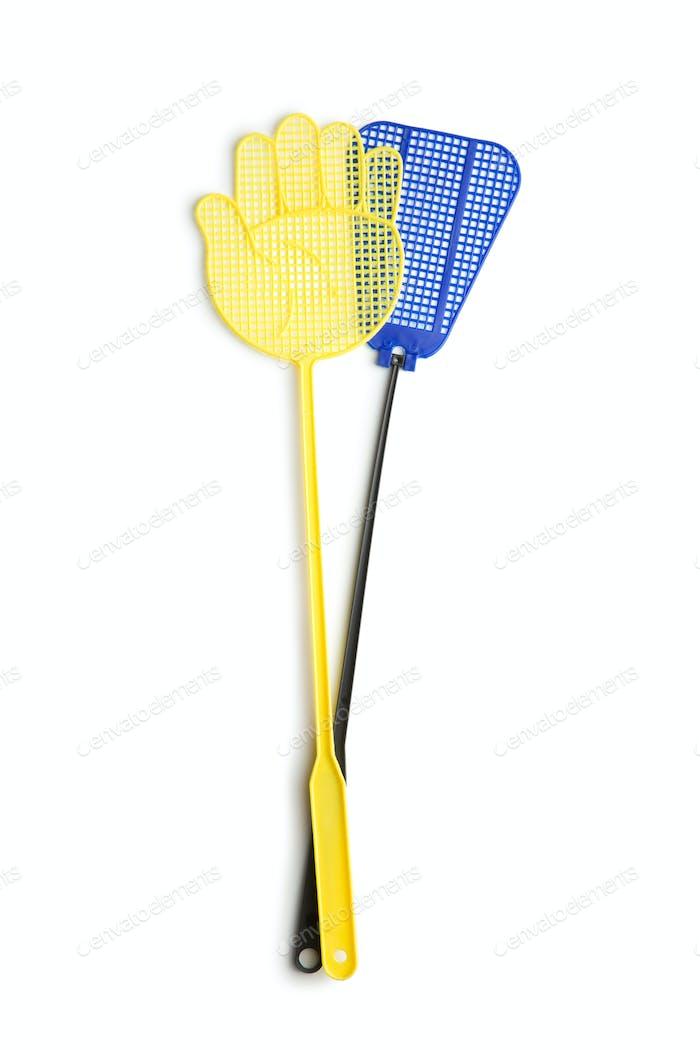 The plastic flyswatter.