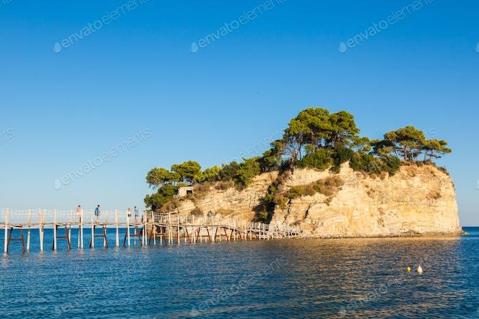 Insel Cameo in Zakynthos (Zante), in Griechenland