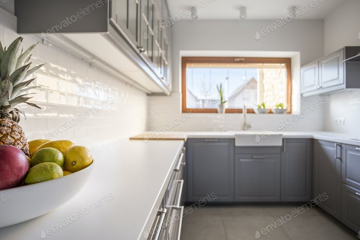 Kitchen from the left perspective