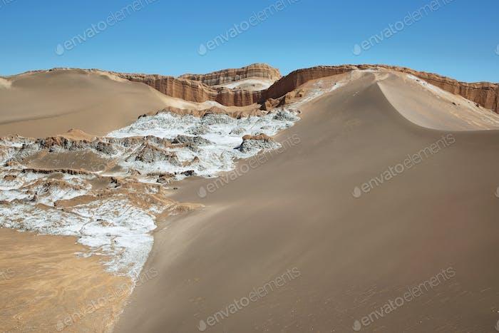 Amphitheatre in Moon Valley, Atacama Desert, Chile