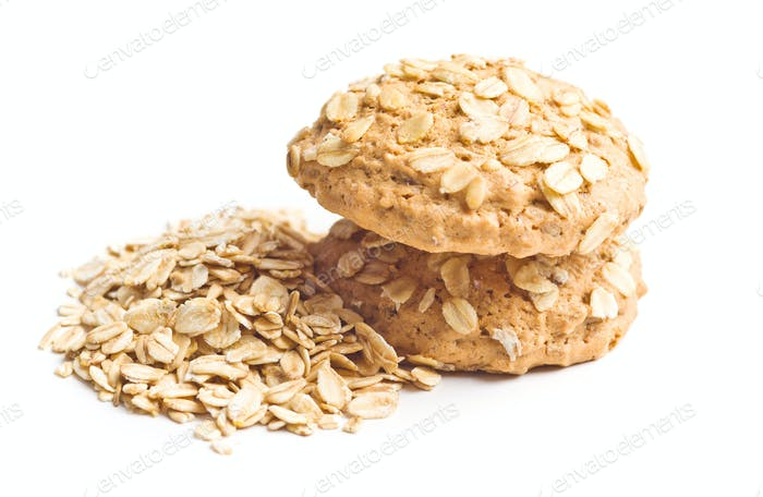 Healthy oatmeal cookies.